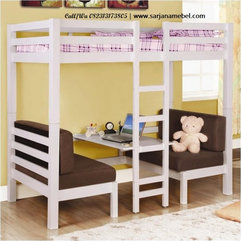Tempat Tidur Anak Minimalis Susun Multifungsi
