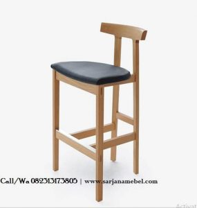 Kursi Cafe Bar Model Stool