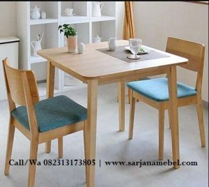 Set Kursi Cafe Minimalis Sarjana Mebel