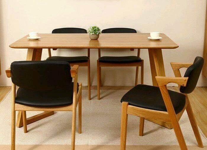 Jual Meja Makan Cafe Vintage 4 Kursi | SARJANA MEBEL