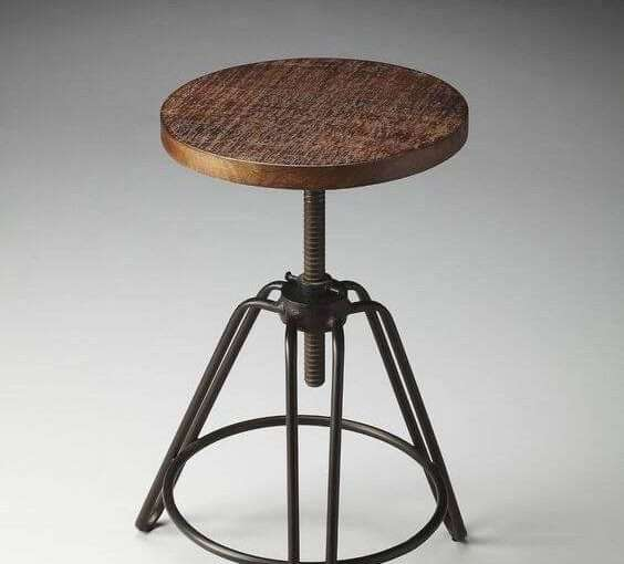 Kursi Bar Model Stool Industrial Murah | SARJANA MEBEL