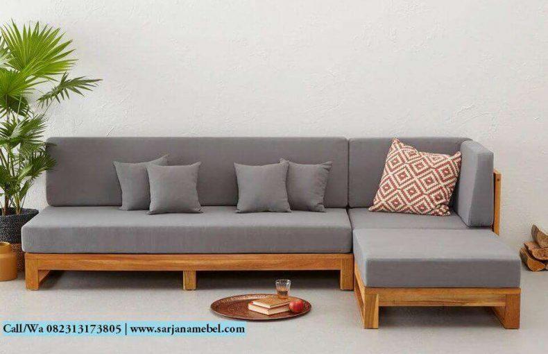Kursi Sofa Sudut Minimalis Modern | SARJANA MEBEL