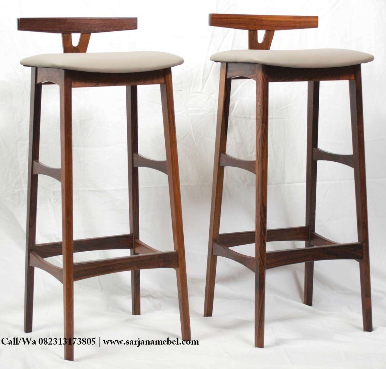 Kursi Bar Cafe Model Retro Vintage Terbaru | SARJANA MEBEL