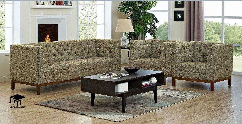Set Kursi Tamu Sofa Model Chester   SARJANA MEBEL