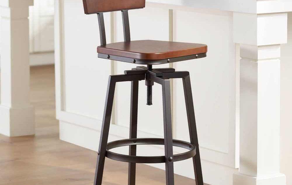Gambar Kursi Bar Stool Putar Model Terbaru
