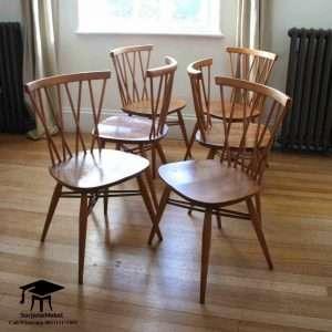 Gambar Kursi Cafe Jari-Jari Silang Minimalis