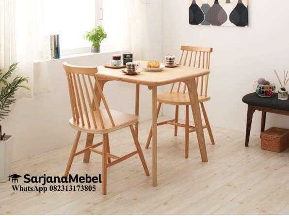 Gambar Set Kursi Makan Cafe Jari-jari Terbaru
