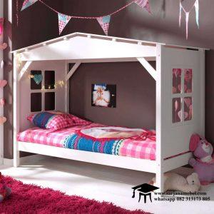 Gambar Tempat Tidur Anak Model Rumah Terbaru