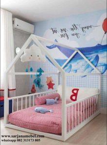 Tempat Tidur Anak Murah Model Rumah