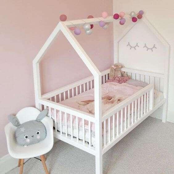 Tempat Tidur Dipan Anak Model Rumah-rumahan