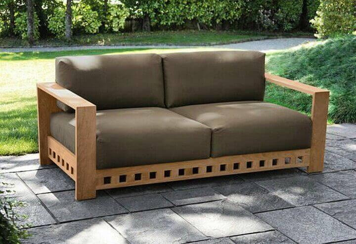 Sofa Santai Minimalis Full Jok 2 Dudukan