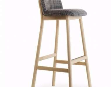 Gambar Kursi Bar Stool Natural Kayu Sungkai | SARJANA MEBEL
